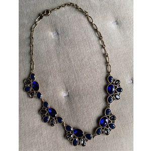 J. Crew Deep Blue Necklace